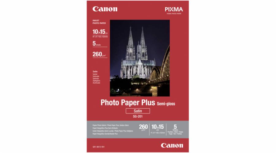 Canon SG-201 10x15 cm 4x6 5 Blatt, 260 g