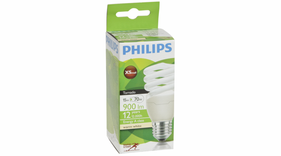 Philips Tornado Energy Saving E27 Spiral 15W (75W) warm-white