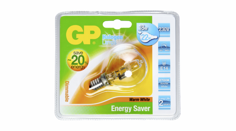 GP Lighting Halogen Mini Globus 18W/230V E-14