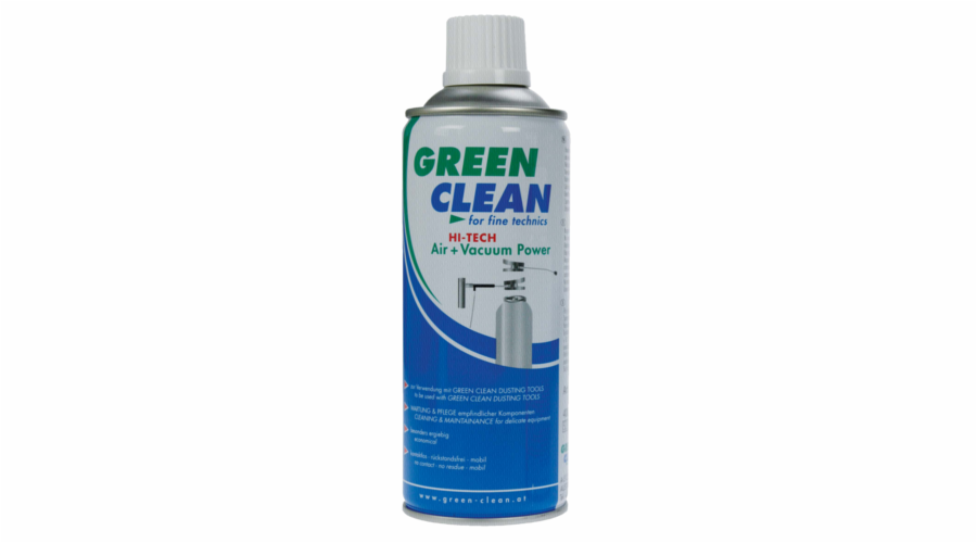 Green Clean High Tech Air Power staceny vzduch 400 ml