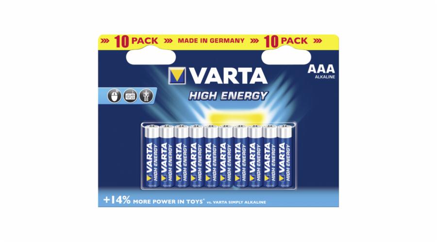 20x10 Varta High Energie Mignon AA LR 6 PU inner box