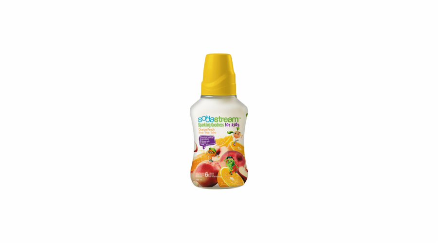Sirup Sodastream Orange Peach Good-Kids 750ml