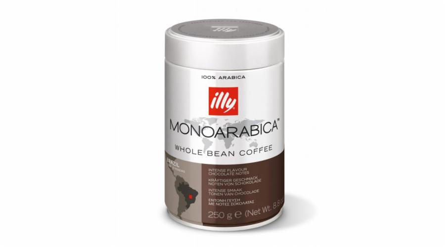 Káva illy Monoarabica Brazil 250g zrnková