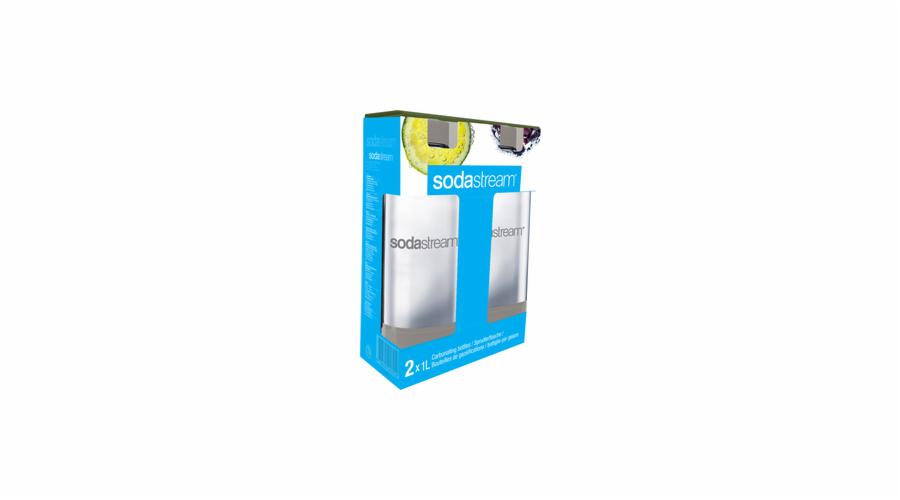 Sodastream Lahev 1l grey duopack