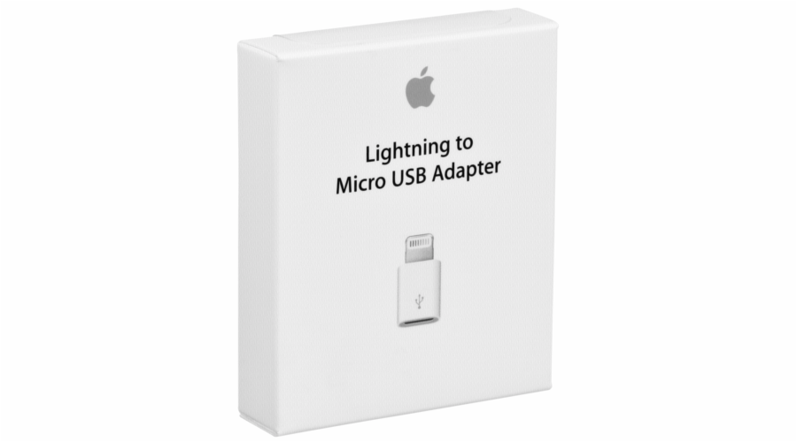 Apple Lightning na Micro USB adapteru MD820ZM/A