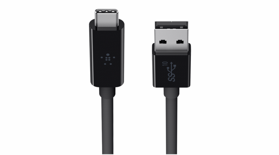 Belkin USB 3.1 SuperSpeed Cable USB-C to USB-A 1m black