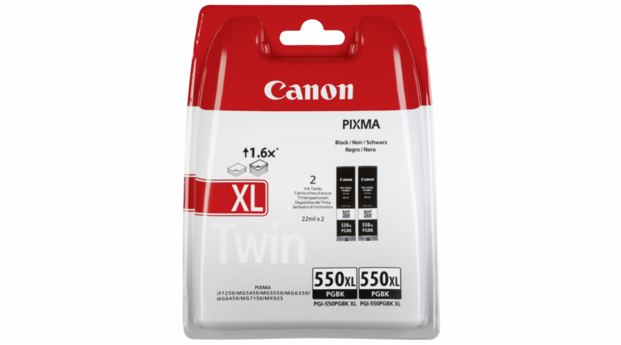 Canon PGI-550 XL PGBK black Twin Pack