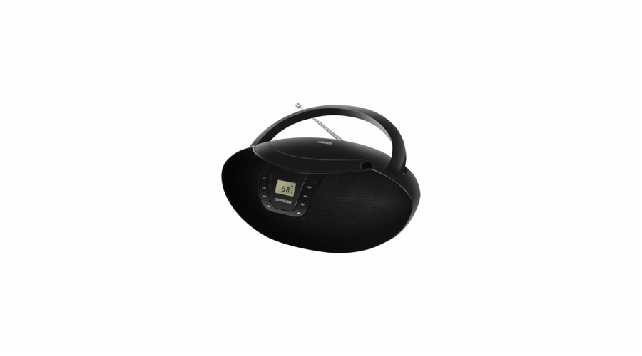 SPT 236 BLACK RADIO S CD/USB SENCOR