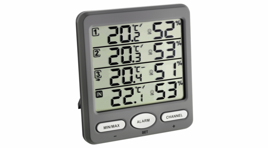 TFA 30.3054.10 Klima Monitor wireless thermo-hygrometer
