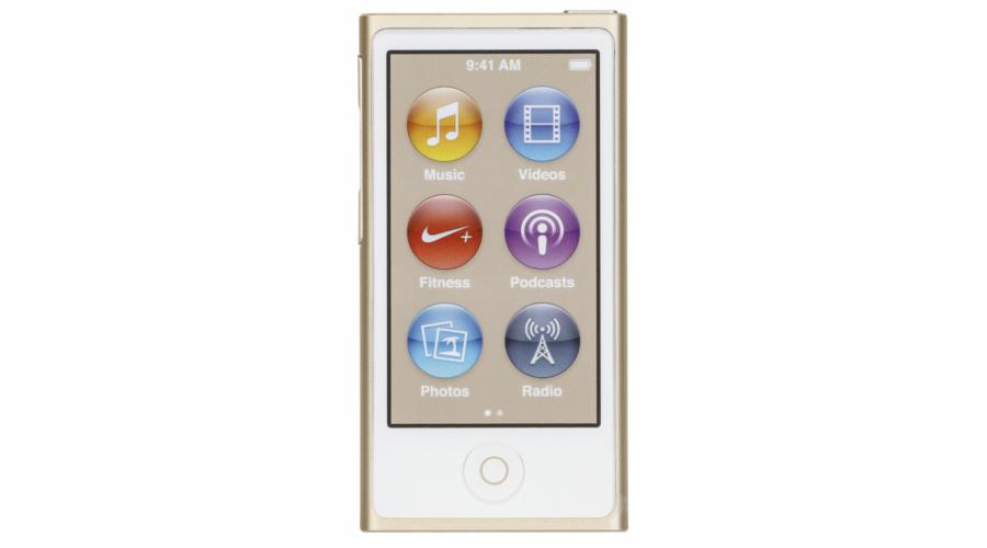 Mobilní telefon Apple iPod nano zlata 16GB 8. generace