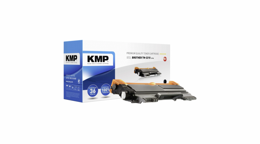 KMP B-T86 Toner black compatible with Brother TN-2210