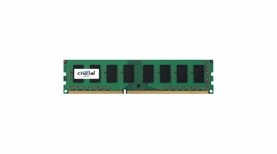 Crucial 8GB DDR3L 1600 MT/s CL11 PC3-12800 240pin single ranked
