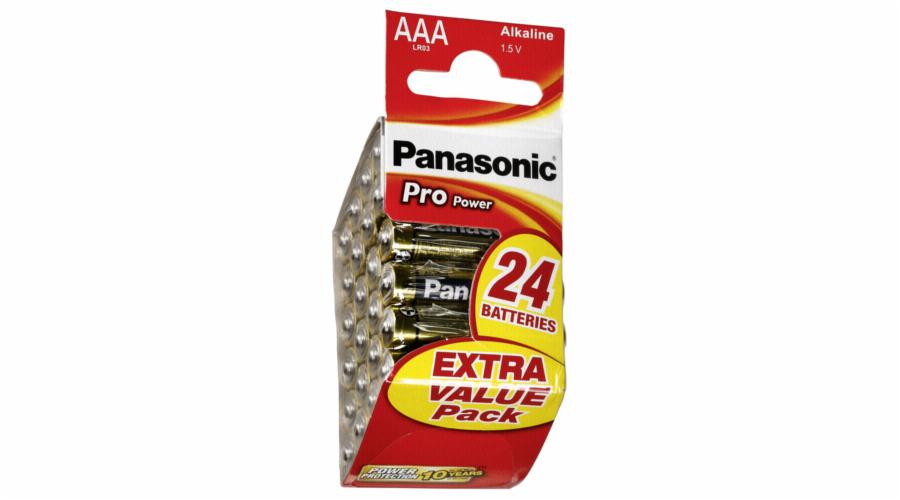 1x24 Panasonic Pro Power Diamond Micro AAA