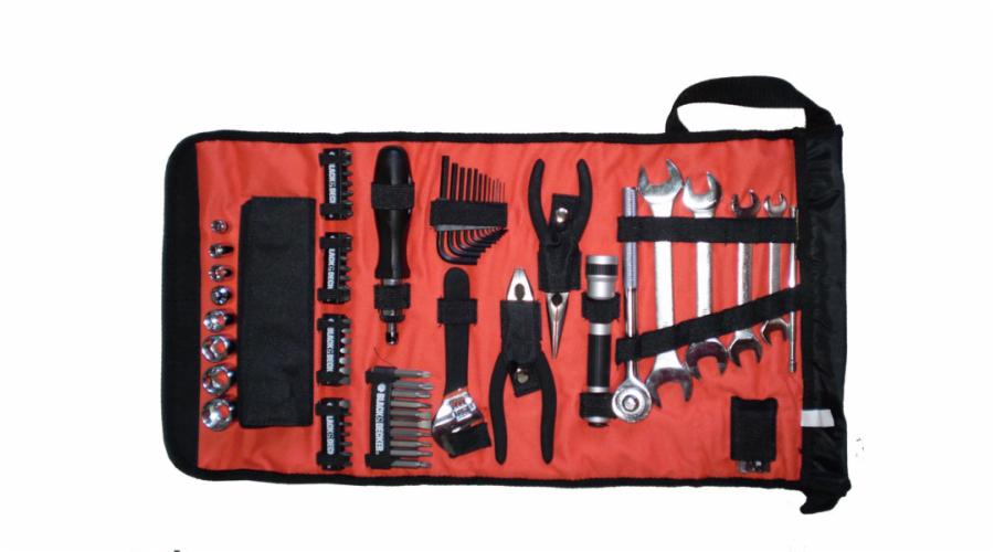 Roll taška s auto příslušenstvím Black&Decker A7144