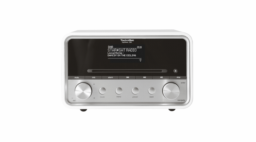 TechniSat DIGITRADIO 580 DAB+ Digitalradio weiss