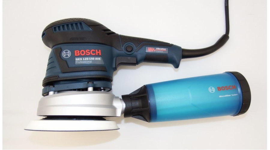 Bosch GEX 125-150 AVE + L-Boxx