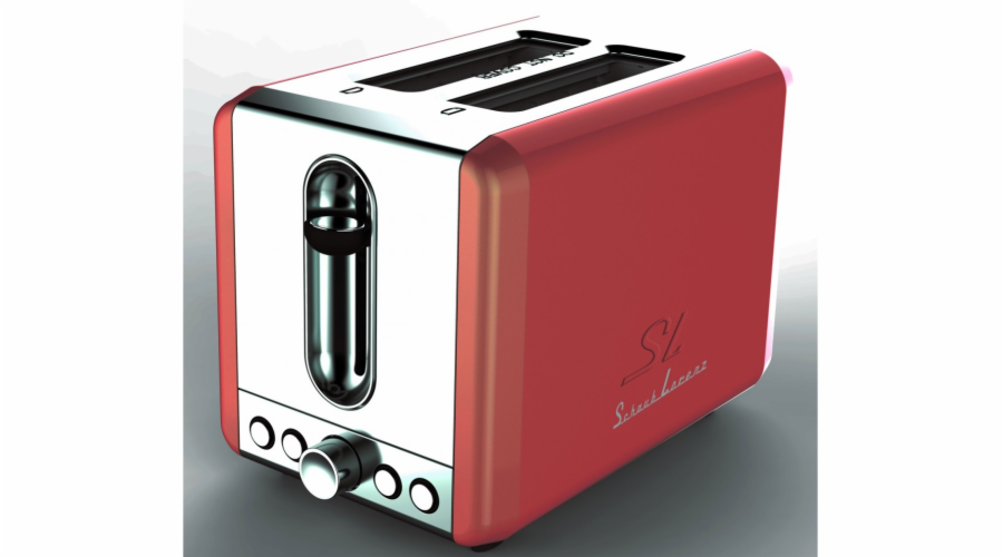 Topinkovač Schaub Lorenz SL T2.1 FR, červený lesklý