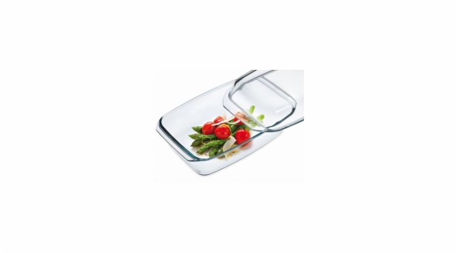 pekáč 2,8l (3,2+2,2)hranatý sklo (7156/7166)