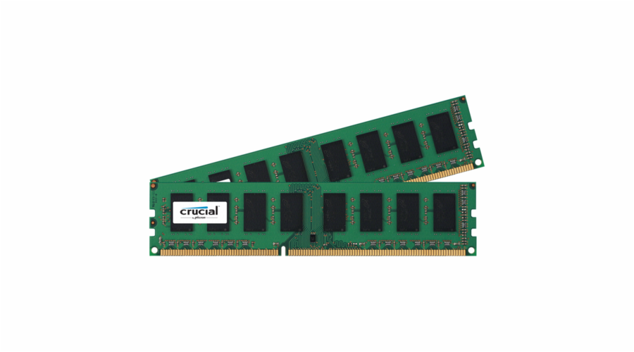Crucial 8GB Kit DDR3L 1600 MT/s 4GBx2 UDIMM 240pin