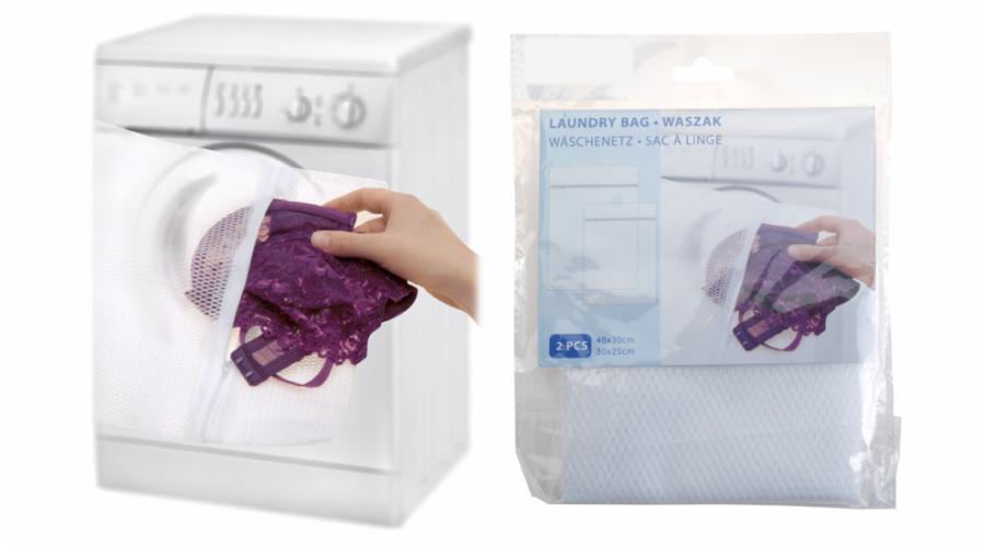 sáček na praní prádla 2ks(40x30,30x25)