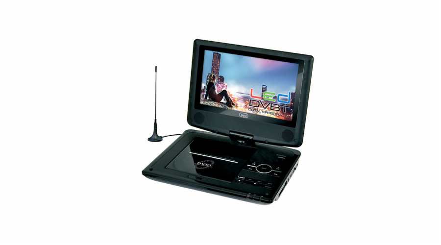DVBX 1412/WH DVD+LED TV,DVB-T,USB,SD