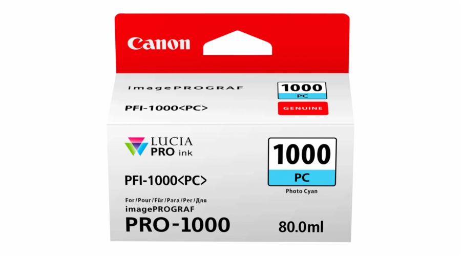 Canon PFI-1000 PC photo cyan