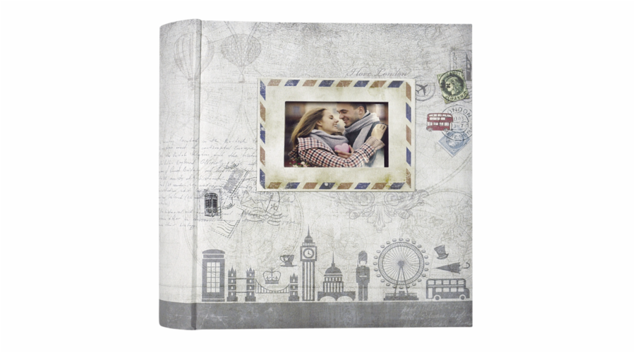 ZEP Ulisse grey 10x15 200 Photos Memo Album UL46200G