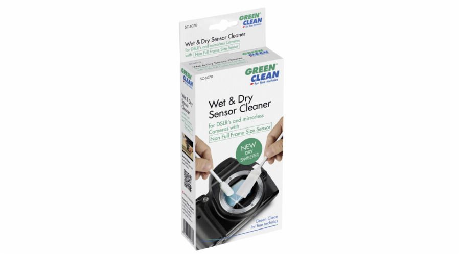 1x4 Green Clean Sensor-Cleaner wet + dry non full size