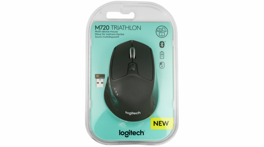 Logitech M720 Triathlon Wireless Mouse