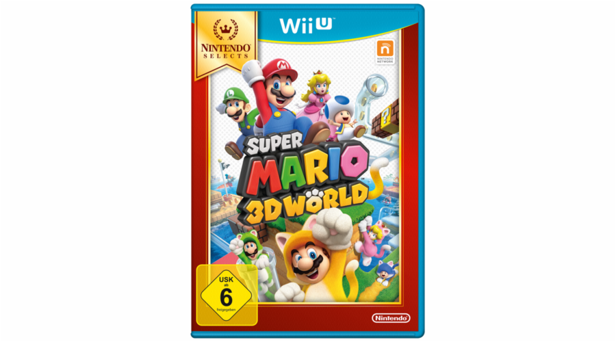 Nintendo Wii U Super Mario 3D World Selects