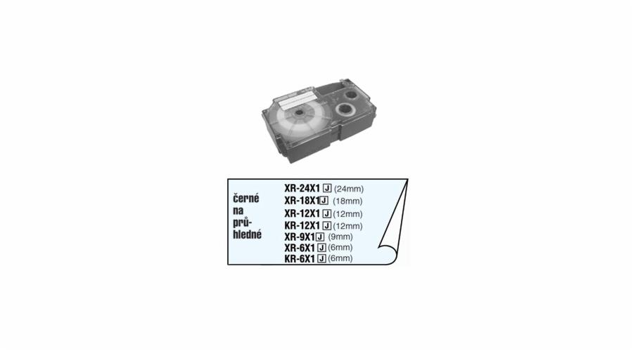 Barvící páska Casio XR 18 X1