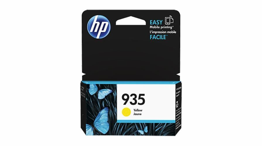 HP C2P22AE Ink Cart No.935 pro OJ Pro 6830, 400str., Yellow