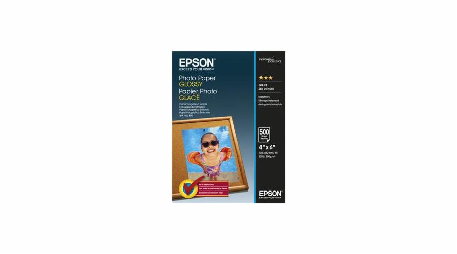 EPSON Photo Paper Glossy 10x15cm 500 listů