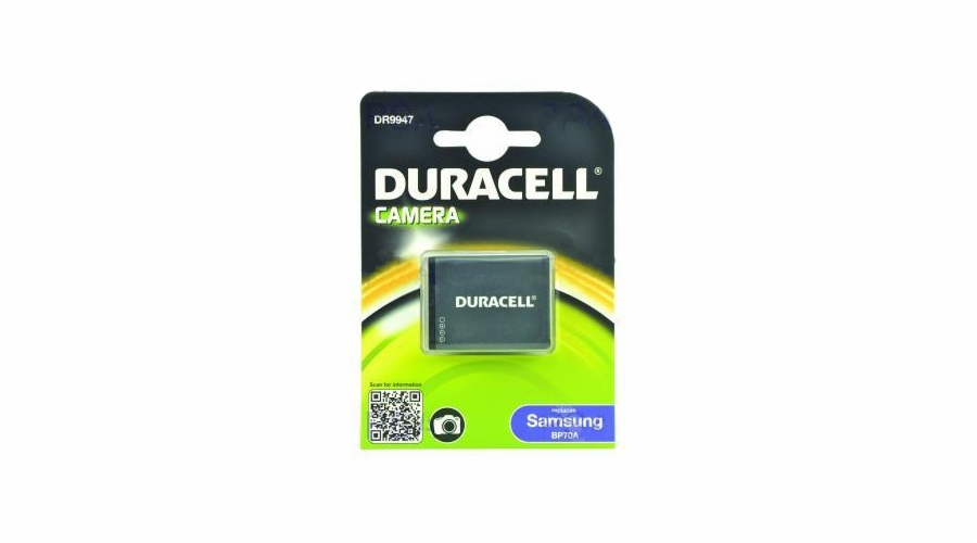DURACELL Baterie - DR9947 pro Samsung BP70A, šedá, 670 mAh, 3.7V