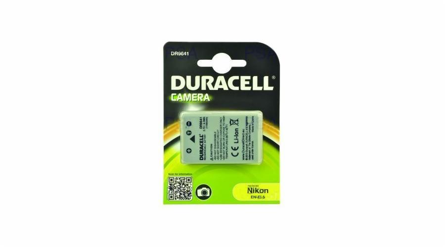 DURACELL Baterie - DR9641 pro Nikon EN-EL5, šedá, 1150 mAh, 3.7V