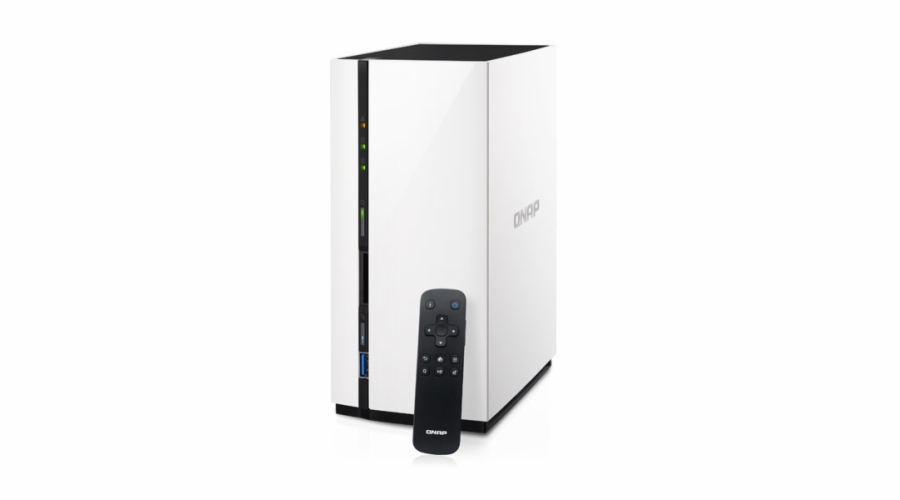 QNAP TAS-268 NAS server, 1,1 GHz DC/2GB/4GB/2x HDD/GL/HDMI/USB 3.0/iSCSI/R0,1/DO