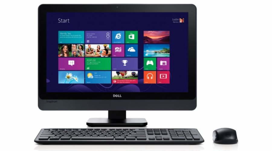 "Dell Inspiron 23"" AIO 5348 Full HD i3-4150/4GB RAM/1T HDD/AMD R7 A265 2GB/Windows 8.1/2 roky NBD"