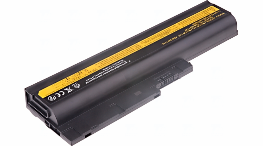 Baterie T6 power IBM ThinkPad T500, T60, T61, R500, R60, R61, Z60m, Z61m, SL500, 6cell, 5200mAh
