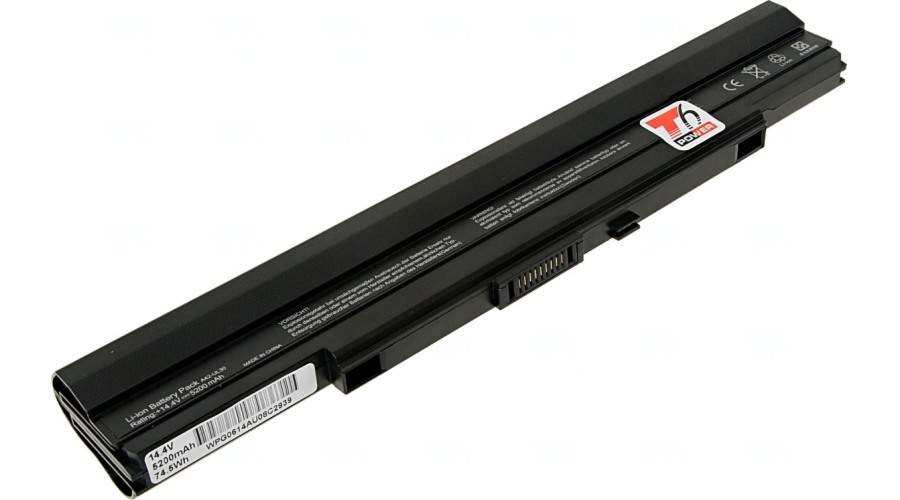 Baterie T6 power Asus UL30, UL50, UL80, 8cell, 5200mAh