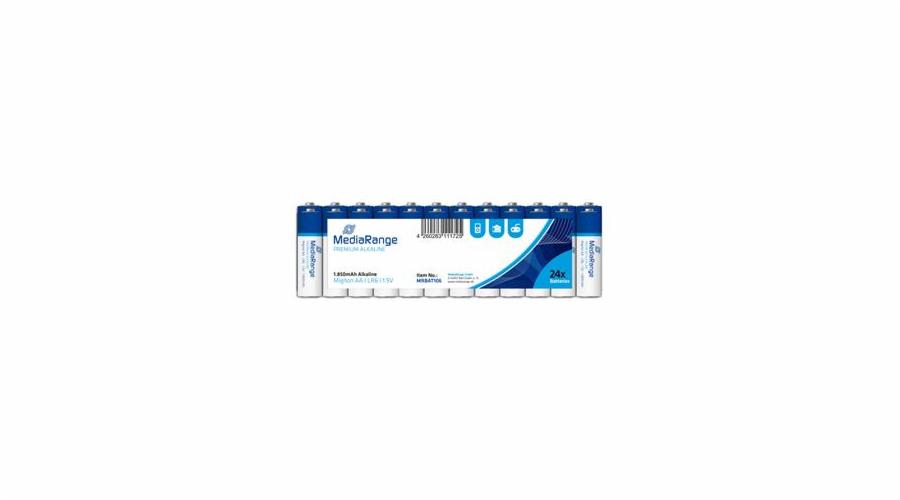 MEDIARANGE Premium baterie Mignon AA 1,5V Alkalické 24pck/BAL
