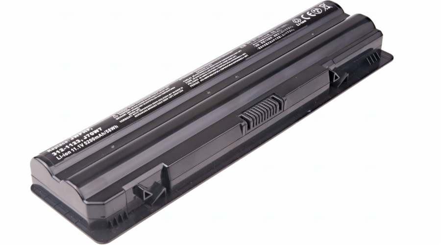 Baterie T6 power Dell XPS 14, 15, 17, L401X, L501X, L502X, L701X, L702X serie, 6cell, 5200mAh