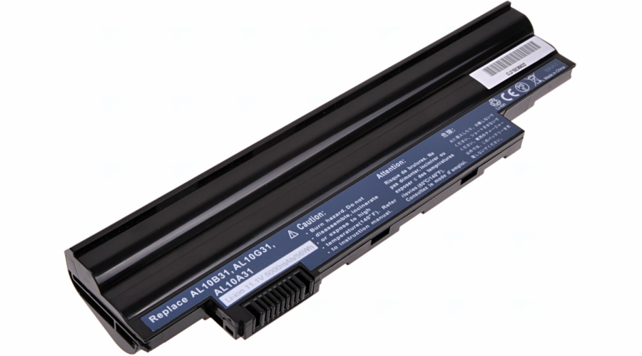 Baterie T6 power Acer Aspire One D255, D260, D270, 522, 722, 6cell, 5000mAh
