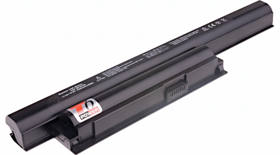 Baterie T6 power Sony Vaio VPC-EA, VPC-EB, VPC-EC, VPC-EE, VPC-EF serie, 6cell, 5200mAh