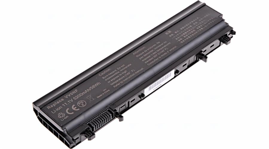 Baterie T6 power Dell Latitude E5440, E5540, 6cell, 5200mAh