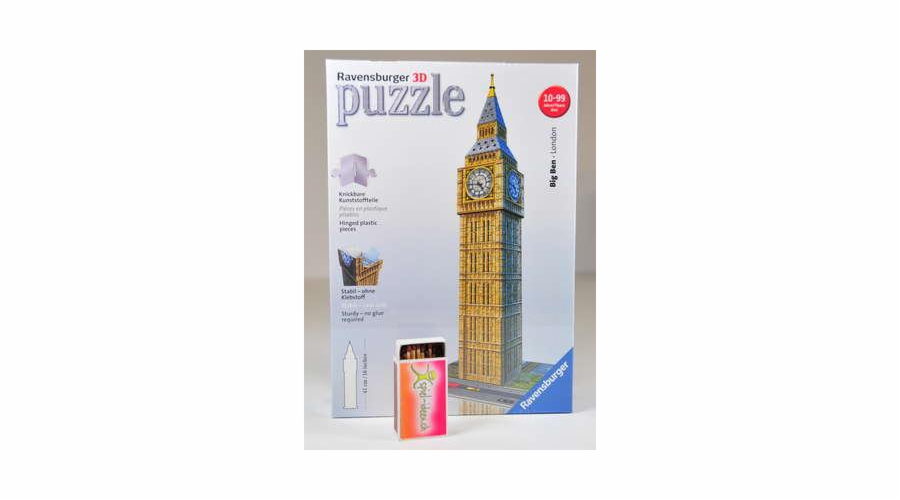 Puzzle 3D Ravensburger Big Ben, 216 dílků