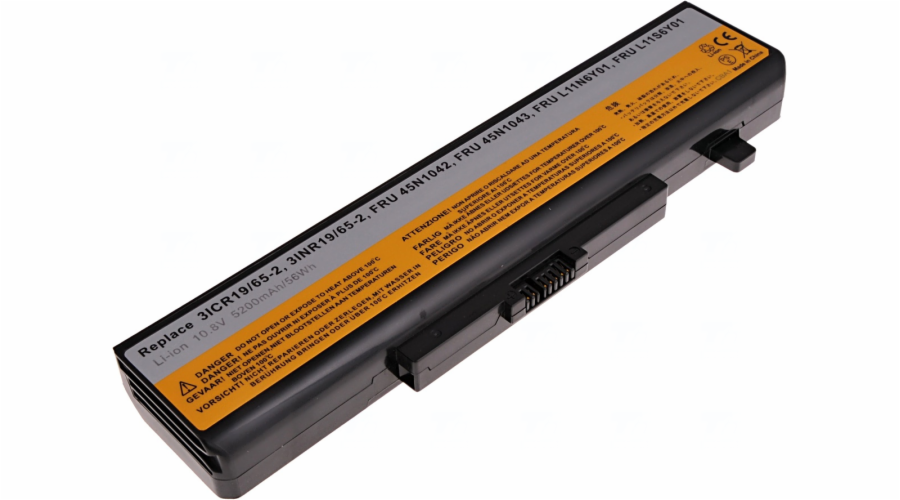 Baterie T6 power Lenovo IdeaPad Z580, G580, G500, G510, G700, 6cell, 5200mAh