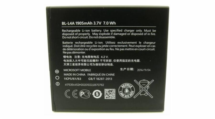 Nokia baterie BL-L4A 1905mAh Li-Ion (Bulk)