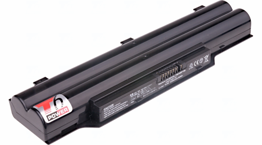 Baterie T6 power Fujitsu LifeBook LH520, LH530, AH530, E741, PH50, PH521, 6cell, 5200mAh