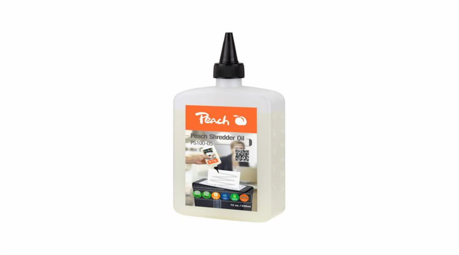 PEACH olej pro skartovačky Shredder Service Kit PS100-05, 355ml