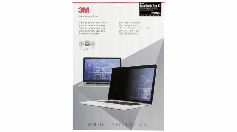 3M PFMR13 Privacy Filter for Macbook Pro 13 Retina Display
